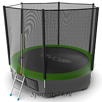 Батут Evo Jump External 10ft зеленый Lower net